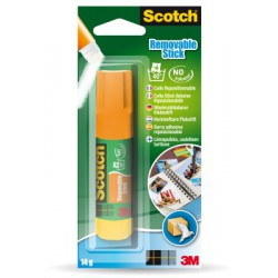Bâtons de Colle Scotch® - Repostionnable - Display - 12 x 19 g