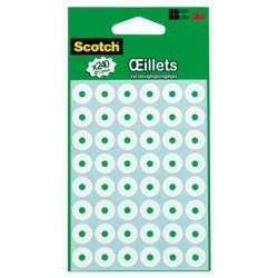 Etiquettes Scotch® - Oeillets - Diamètre 13 mm - 240 Unités
