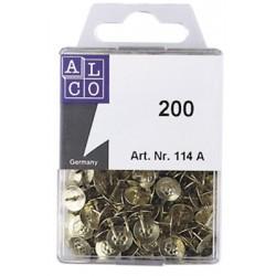 Punaises Alco cuivre 9 mm. boîte de 200 pièces