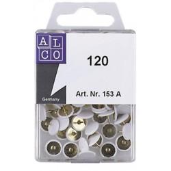 Punaises Alco Sun tête plastique blanche boîte de 120 pcs