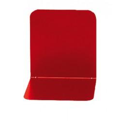 Support livres Alco 130x140x 140mm métal rouge, boîte. 2 pièces