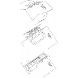 Multiperforateur Alco 2/4r plastique assorti