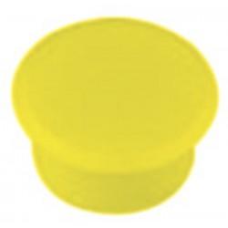 Aimant Alco 13mm rond jaune boîte. 10 pièces
