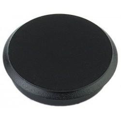 Aimant Alco 24mm rond boîte 10 pièces noir