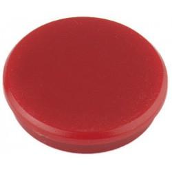 Aimant Alco 32mm rond rouge boîte.10 pièces