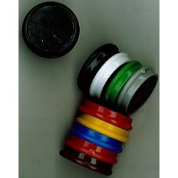 Aimant Alco 32mm rond assorti boîte.10 pièces