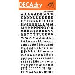 DECAdry transfert noir n°40 (6mm) 1F