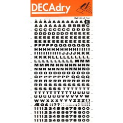 DECAdry transfert noir n°65 (4mm) 1F