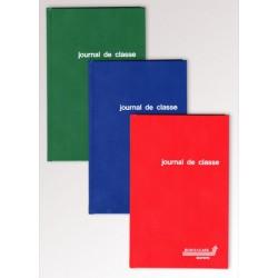 JOURNAUX DE CLASSE, papier sans bois, encollé, Français - secondaire, Balacron assortis, 80g/m², 248p, 135x210mm