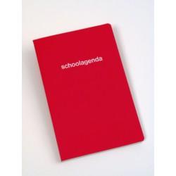 JOURNAUX DE CLASSE, papier sans bois, encollé, Néerlandais - seconadaire, pelliculé assorties, 80g/m², 256p, 135x210mm