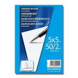 ORDER-BOOKS, CARNET AUTOCOP.14X21 50/2 Q5 MANIFOLD, AUTOCOPIANT 50 X 2 FLLS