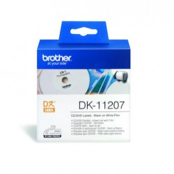 DK-11207 CD/DVD Film Label (58mm)/100