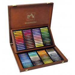 NEOPASTEL Coffret bois à 96 couleurs
