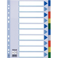 INTERCALAIRES PP A4 10 ONGLETS £