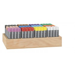 karat pastels à l'huile 11 mm - display 144 pc