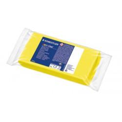 Noris Club pâte à modeler bloc 1 kg jaune