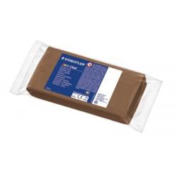 Noris Club pâte à modeler bloc 1 kg brun