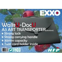 "PORTE DOCUMENTS A3 ""WalkU-DocU"" Art Transporter"