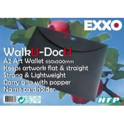 "PORTE DOCUMENTS A2 ""WalkU-DocU"" Art Wallet"