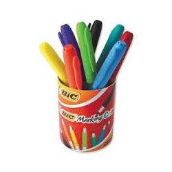 MARQ.MARKING COLOR /POT 8PCS.£