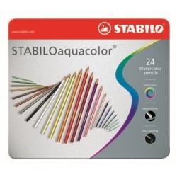 STABILOaquacolor® metal box 24 pcs
