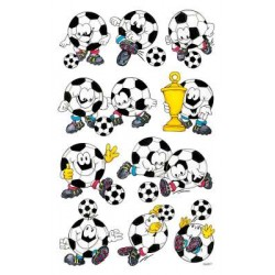 Étiquette 3D Z-design Kids 1 feuille football
