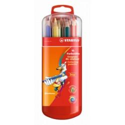 Trio® thick pencil 18 cm box 15 pcs