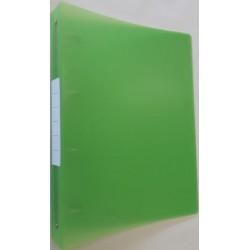 CLASSEUR 4 ANNEAUX 30 MM POLYPROPYLÈNE COLOR FRESH- A4 MAXI - A4+ DOS DE 40mm
